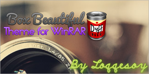Box Beautiful theme for WinRAR by Loqqesoy
