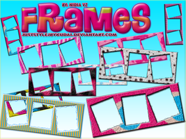 Frames PNG pack 001 by juststyleJByKUDAI