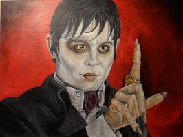 Barnabas Collins the Vampire by Launadoon