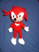 Knuckles the Echidna by Sugarcoatidli3z