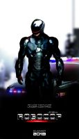 RoboCop Remake Fan Poster by NiteOwl94