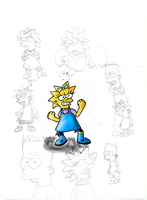 Simpson sketches by Quacksquared