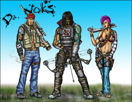Da 'Noks by Wry1 - KDS Colors 2013 by ksmith3620