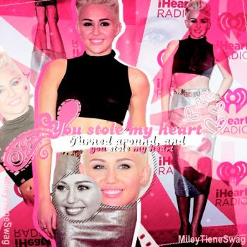 You stole my hearth by mileytieneswag