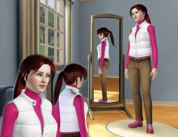 TS3: Claire Redfield by Escorte