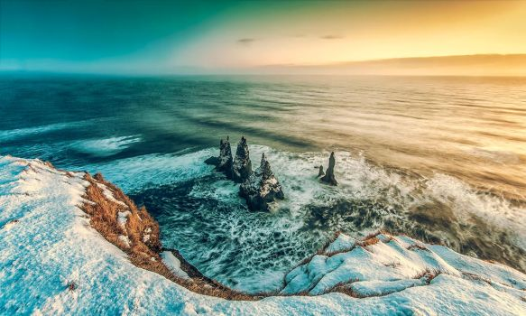 Reynisdrangar by PatiMakowska