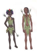 69th Hunger Games: District 11 Chariot Costumes by 13foxywolf666
