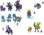 Fakemon Auction - CLOSED by Veenerick