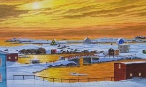 newfoundland fire and ice by kenpower