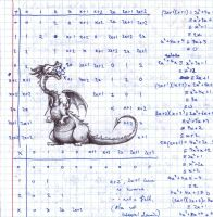 Math Dragon by Witbik