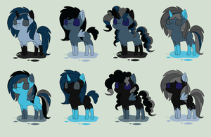 QuillGale Inky adopts - 10 p. - CLOSED by theWeaverofTales