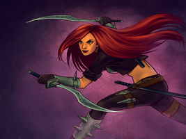 Katarina by DestructoBot