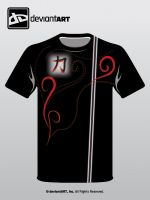Kanji Strength Contest Shirt by alieg123