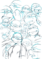 emotion training sketched by FREAKfreak