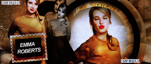 EMMA ROBERTS BY ROSSI EDITIONS by RossiEditions10