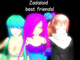 best friends zadaloid :3 by popipo338