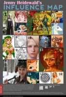 Influence Map by celticwren