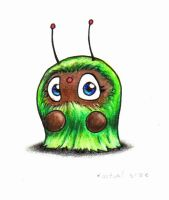 Fuzzy Creature by x2creator