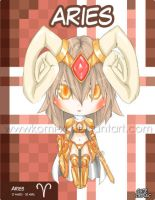 Chibi Zodiac girls - Aries by Komi-xi