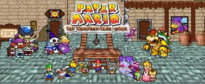 Paper Mario: The Thousand Year Door by gold-ring-951