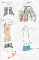 Here are her clothes, etc. by XceptionOvrRuled