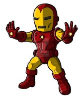 Chibi Classic Iron Man by GuyverC