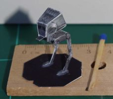 AT-ST - Star Wars miniature by SarienSpiderDroid