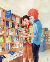 Book Store by thoughtshower