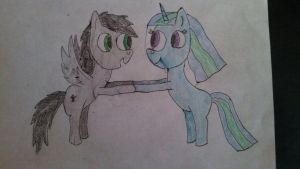 Shadow and Snowflake :) by Snowflake-Star