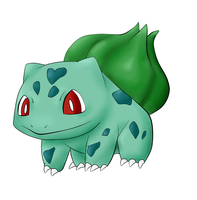 Bulbasaur finished ^^ by Duskpaw