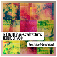 Texture Set 044 by twinstrikeish