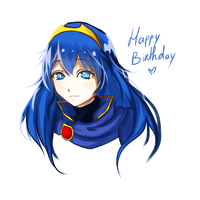 HAPPY BIRTHDAY LUCINA by Kyouheii