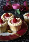 raspberry cupcakes by cookiefiles