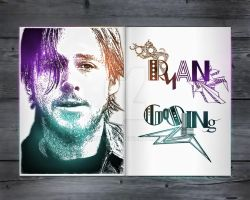 Ryan Gosling Scetch by BeautyMind