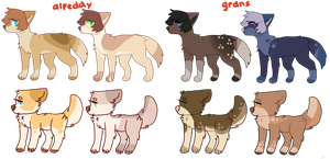 adopt batch 1 (reduced to 400/$4.00) by sailorboys