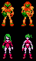 Metroid Redesign by TRIFORCE89