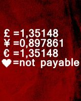 Love is not payable by Poof2507