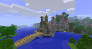 Minecraft - Castle by TheNose90