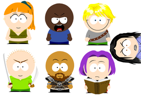 OotS Goes South Park by Sammi-The-FF-Freak