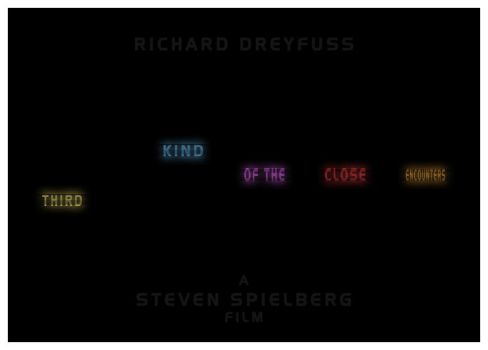 Close Encounters of the Third Kind - Minimalist by 3ftDeep