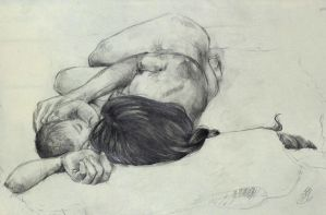 Mother and Child Figurative Work by NynjaKat