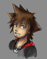 Quick Sora Sketch by AJanime12