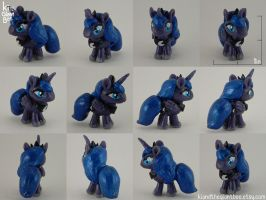 Princess Luna Miniature Sculpture by kicat