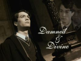 Tom Riddle _damned and divine_ by x--lalla--x