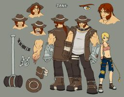 Tanks character page by kilara