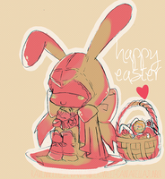 Happy Easter 2013 by RavenNoodle