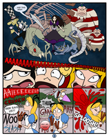 Alice vs. ALICE: Fantasyland Throwdown - Page 4 by NikkiWardArt