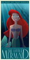 The Little Mermaid poster fanart by Chernin