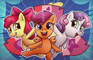 Cutie Mark Crusaders by ChrisWithATa