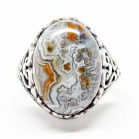 Laguna Lace Agate Ring by par-me